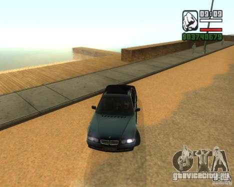 BMW 740i для GTA San Andreas вид слева