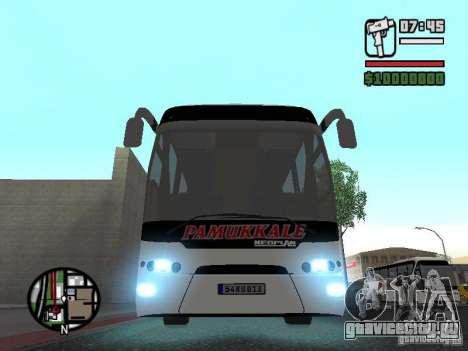 Neoplan Tourliner для GTA San Andreas вид сзади