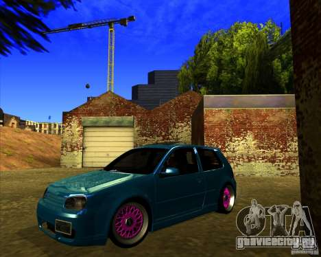 Volkswagen Golf R32 Euro look для GTA San Andreas