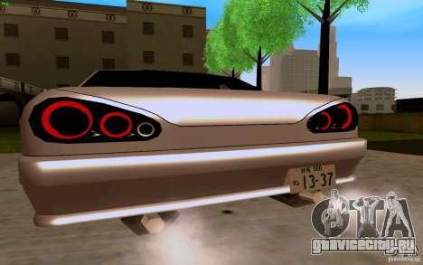 Новая Elegy для GTA San Andreas вид справа