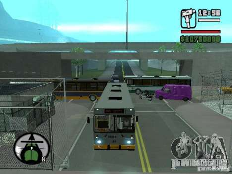ЛиАЗ 5283.01 для GTA San Andreas вид сзади слева