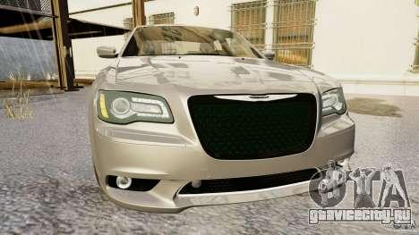 Chrysler 300 SRT8 2012 для GTA 4 вид сзади слева