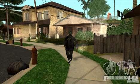 grove skin 1 рангов для GTA San Andreas второй скриншот