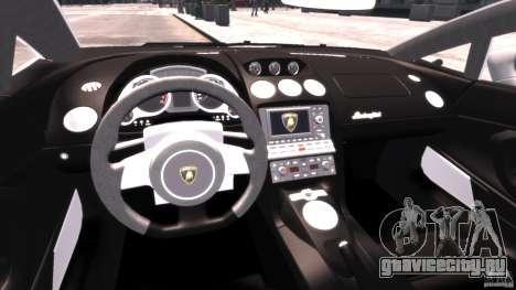 Lamborghini Gallardo LP 560-4 DUB Style для GTA 4 вид справа
