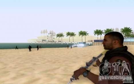 Салазар в гражданском для GTA San Andreas четвёртый скриншот