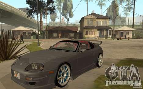Toyota Supra Rz The Bloody Pearl 1998 для GTA San Andreas