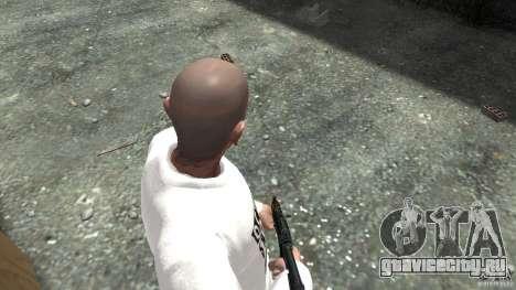 AKS-74U для GTA 4 третий скриншот