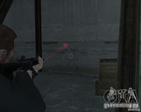 Flashlight for Weapons v 2.0 для GTA 4 второй скриншот