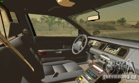 Ford Crown Victoria Maine Police для GTA San Andreas вид сзади слева