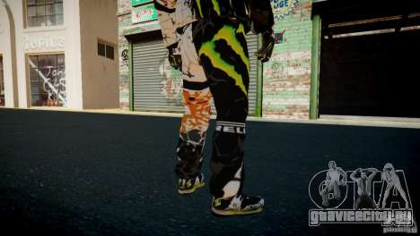Ken Block Gymkhana 5 Clothes (Unofficial DC) для GTA 4 восьмой скриншот