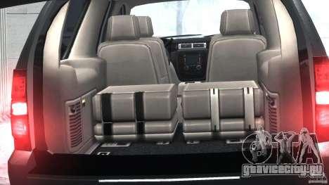 Chevrolet Tahoe 2007 для GTA 4 вид изнутри