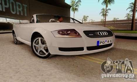 Audi TT Roadster для GTA San Andreas вид справа