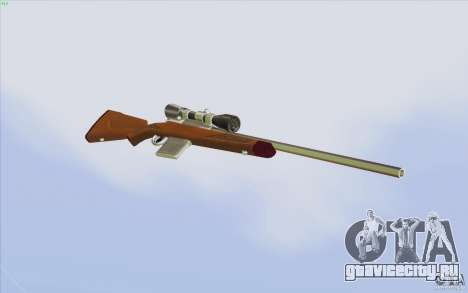 Low Chrome Weapon Pack для GTA San Andreas девятый скриншот