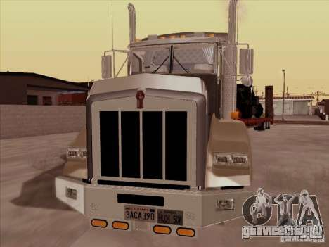 Kenworth T800 для GTA San Andreas вид слева