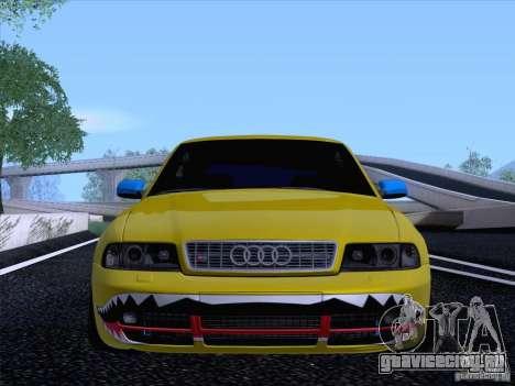 Audi S4 DatShark 2000 для GTA San Andreas вид сзади
