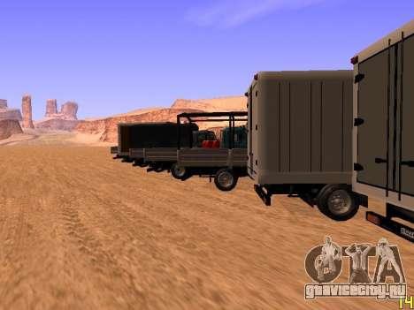 ЗиЛ 5301 Бычок для GTA San Andreas салон