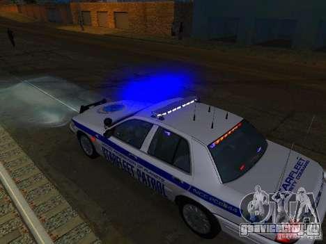 Ford Crown Victoria Police Interceptor 2008 для GTA San Andreas вид снизу