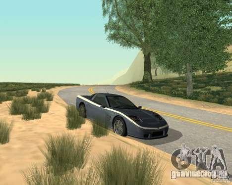Сoquette из GTA 4 для GTA San Andreas вид слева