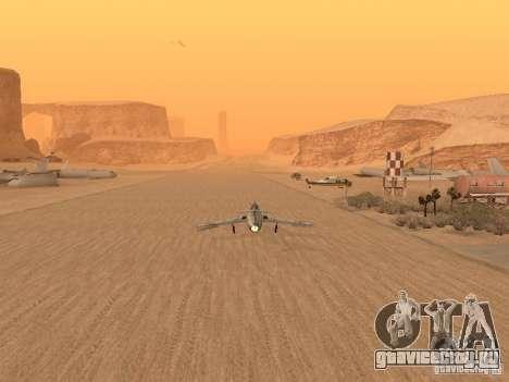 Миг 15 С рабочим вооружением для GTA San Andreas вид сбоку