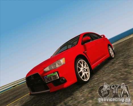 NFS The Run ENBSeries by Sankalol для GTA San Andreas второй скриншот