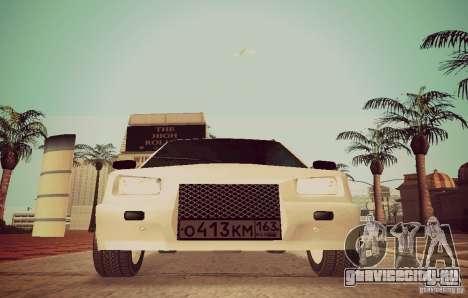 Ваз 1111 ОКА (Белка) для GTA San Andreas вид сзади слева