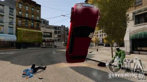 Халк скрипт для GTA 4 пятый скриншот