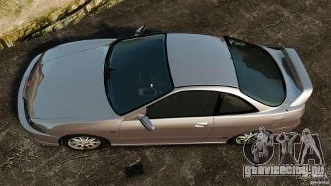 Honda Integra Type-R для GTA 4 вид справа