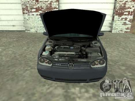 Volkswagen Golf IV для GTA San Andreas вид справа