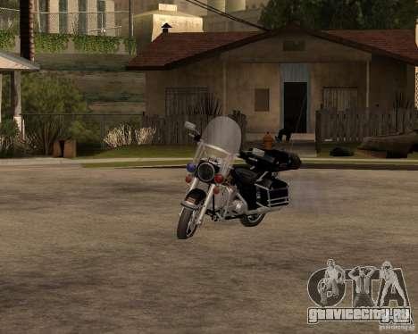 Harley Davidson Police 1997 для GTA San Andreas