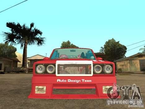 ВАЗ 2107 Sparky для GTA San Andreas вид справа