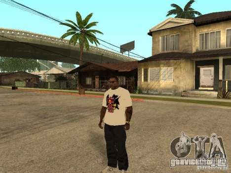 Майка Red Bull для GTA San Andreas второй скриншот