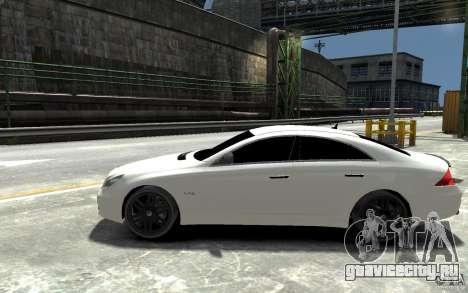 Mercedes Benz CLS Brabus Rocket 2008 для GTA 4 вид слева