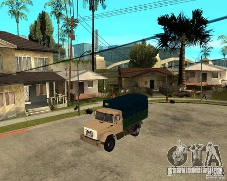 Зил-433362 Extra Pack 1 для GTA San Andreas вид справа