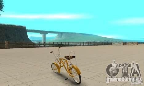 Lowrider для GTA San Andreas вид сзади слева