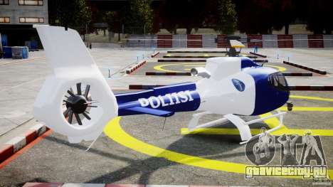 Eurocopter EC 130 Finnish Police для GTA 4 вид сбоку