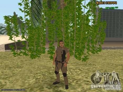 SAPD skins для GTA San Andreas третий скриншот