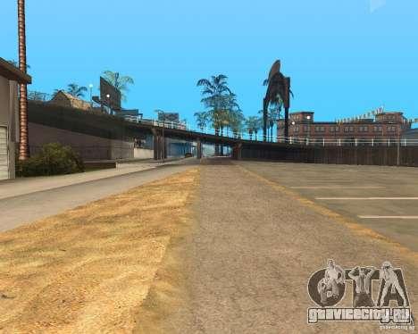 New textures beach of Santa Maria для GTA San Andreas одинадцатый скриншот