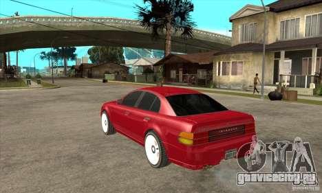 GTA IV Intruder для GTA San Andreas вид сзади слева