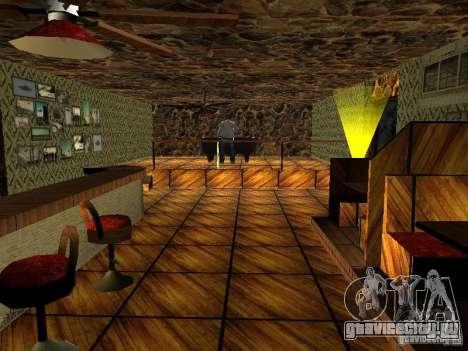 Новые текстуры бара UFO для GTA San Andreas четвёртый скриншот
