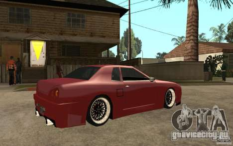 Elegy Modified для GTA San Andreas вид справа