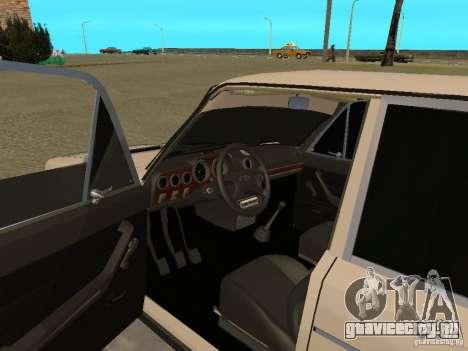 ВАЗ 2106 West Style для GTA San Andreas вид сзади