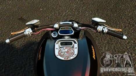 Ducati Diavel Carbon 2011 для GTA 4 вид сзади