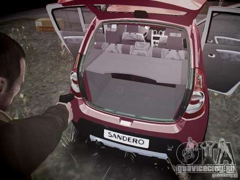 Dacia Sandero Stepway для GTA 4 колёса