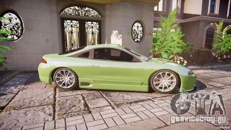 Mitsubishi Eclipse для GTA 4 вид сзади