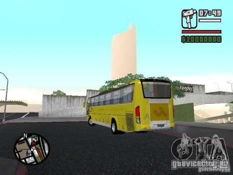 Busscar Vissta Bus для GTA San Andreas вид слева