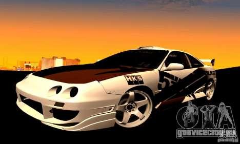 Acura Integra Type R для GTA San Andreas вид справа