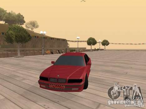 BMW 750iL e38 Дипломат для GTA San Andreas