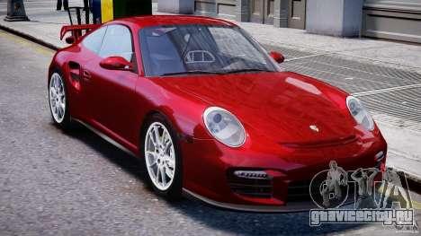 Posrche 911 GT2 для GTA 4 вид изнутри