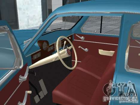 Москвич 403 для GTA San Andreas вид сзади