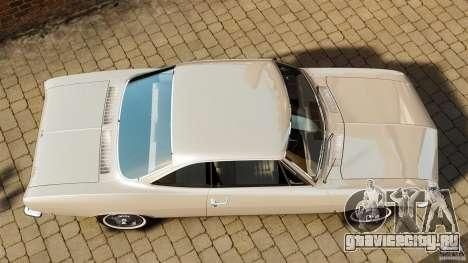 Chevrolet Corvair Monza 1969 для GTA 4 вид справа